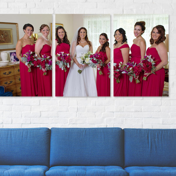 Canvas Print-Brides Maids