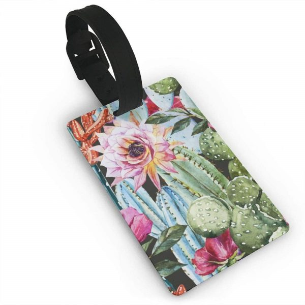 Luggage Tag – Flowers