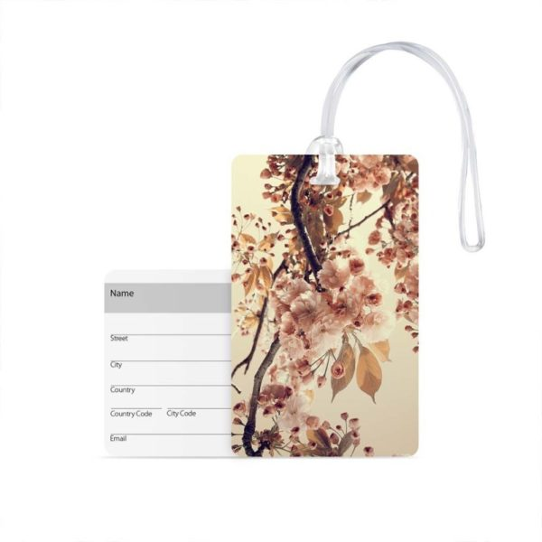 Luggage Tag Flower