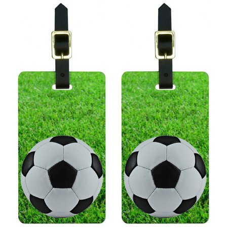 Luggage Tag Soccer