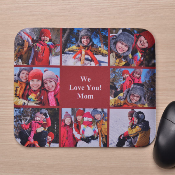 Mouse Pad Baby and mom