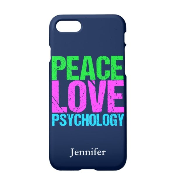 iPhone Cover Peace Love